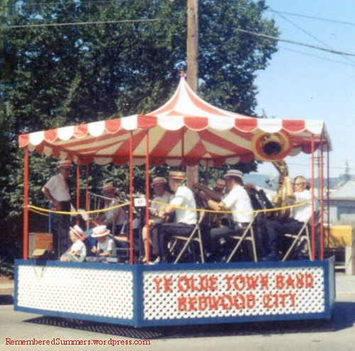 Ye Olde Town Band, Redwood City, circa 1958-62.